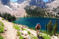 turyści w górach, wycieczka